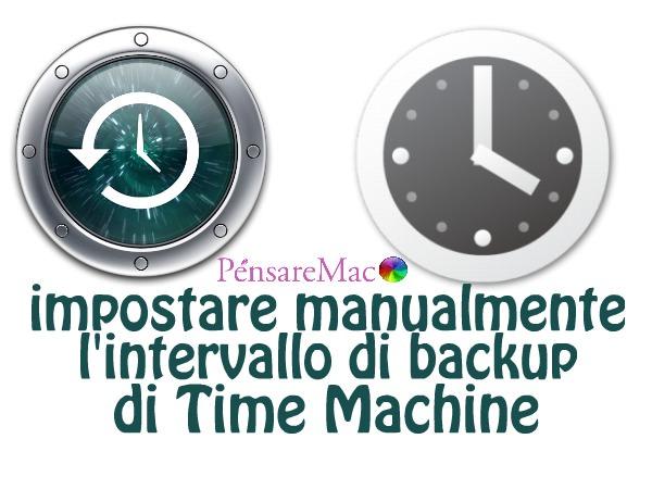 manual time machine backup