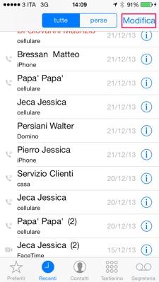 I metodi più efficaci per recuperare il registro cancellato delle chiamate dall'iPhone