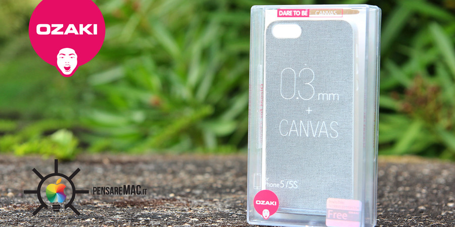 [Recensione] Ozaki O!Coat 0,3mm + Canvas, la custodia per iPhone 5/5s ultra sottile