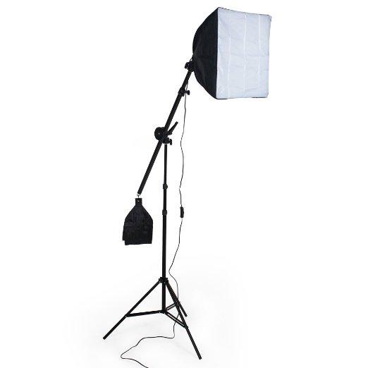 TecTake ILLUMINAZIONE SET STUDIO FOTO FOTOGRAFICO LUCE DIURNA LAMPADA DAYLIGHT SOFTBOX STATIVO + BORSA