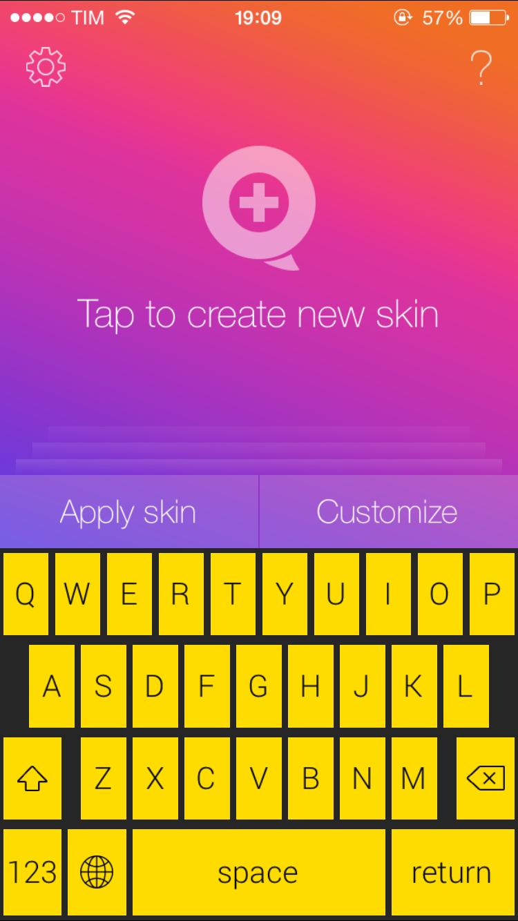 tastiera colorata gratis