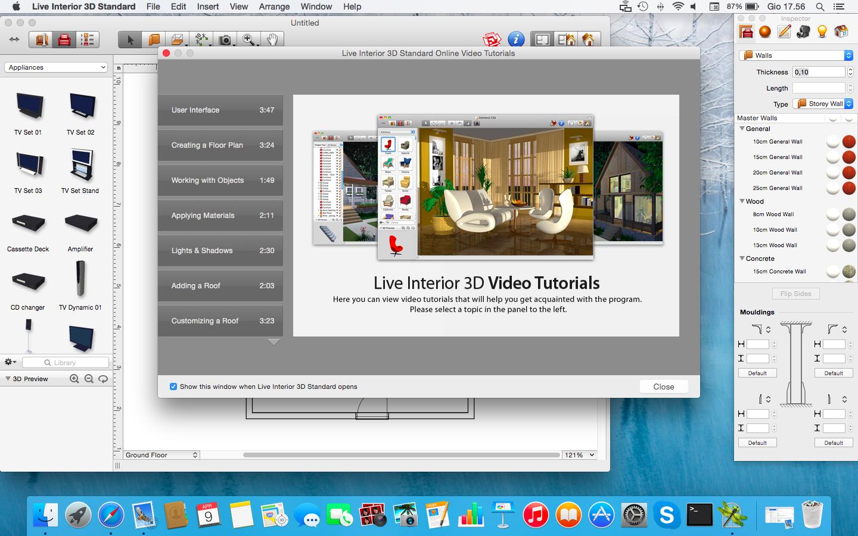 Software Arredamento Interni Gratis recensione live interior design 3d per mac, ottima app per