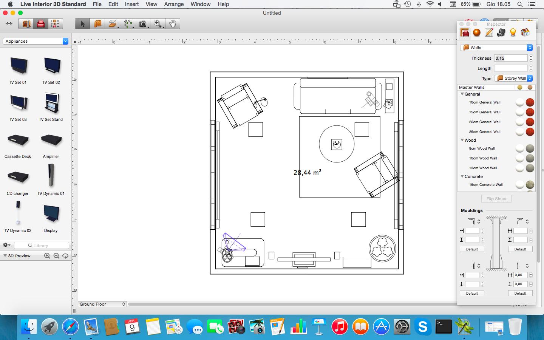 Programma arredamento interni idee per la casa for Programma per arredare in 3d