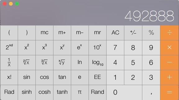 [Come si fa] La Calcolatrice del Mac può diventare scientifica e programmatore