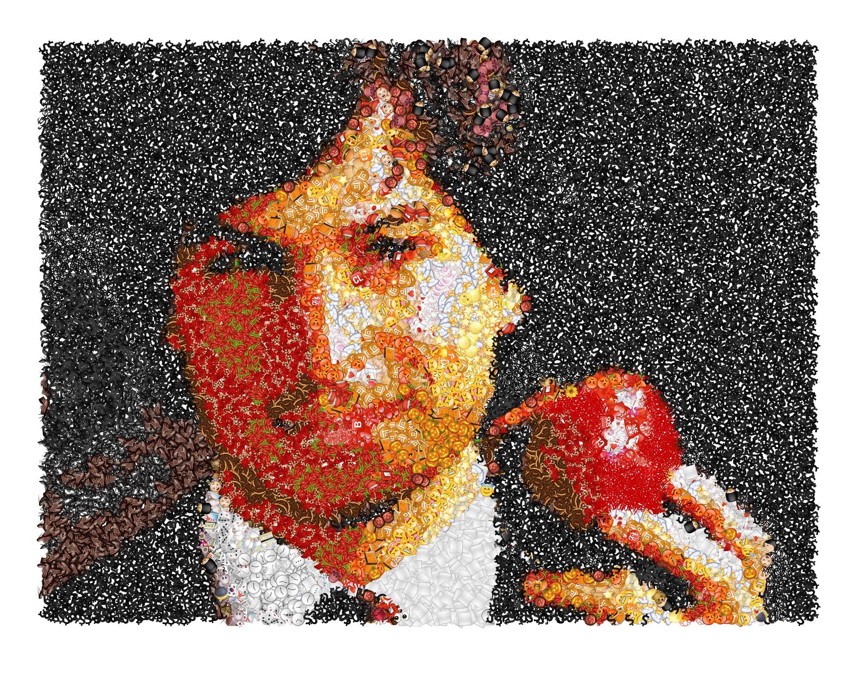 Mosaico di Emoji