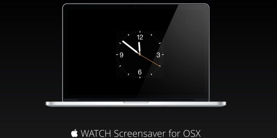 [Come si fa] Installare un elegante quadrante di Apple Watch come screensaver per Mac