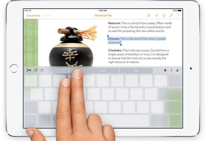 [Come si fa] Trasformare la tastiera di un iPad in un trackpad