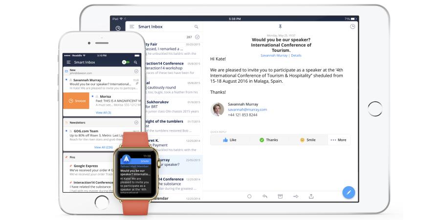 Spark, il mio client di posta preferito per iPhone arriva finalmente anche su iPad e parla italiano