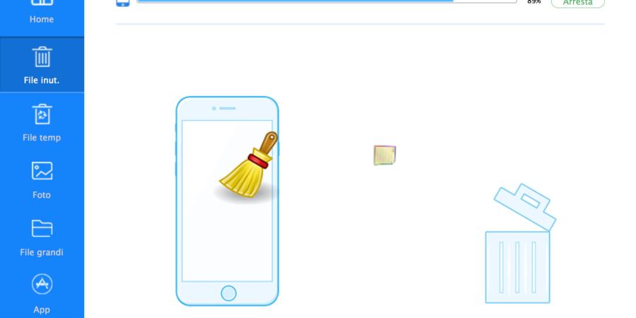 Liberare spazio su iPhone con l'app iMyfone Umate