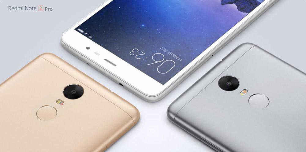 XIAOMI Redmi Note 3 Pro a 162€ su Gearbest