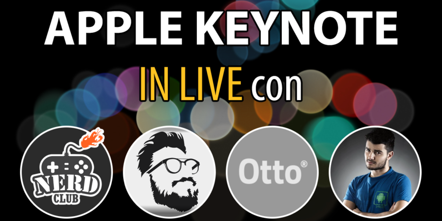 Apple Keynote 7 settembre 2016 – In live con Otto Climan, Ghela e Sgnoogle