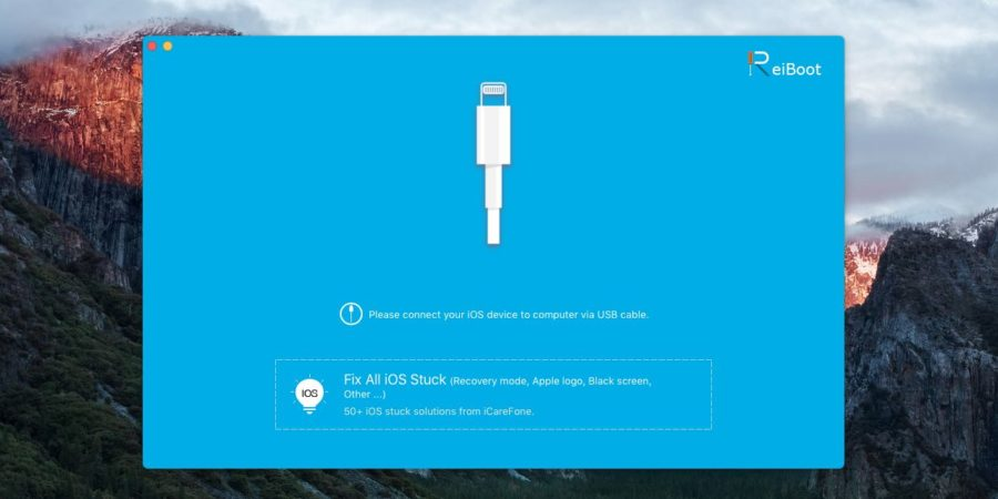Tenorshare Reiboot, l'app per gestire la recovery mode di iPhone con un click