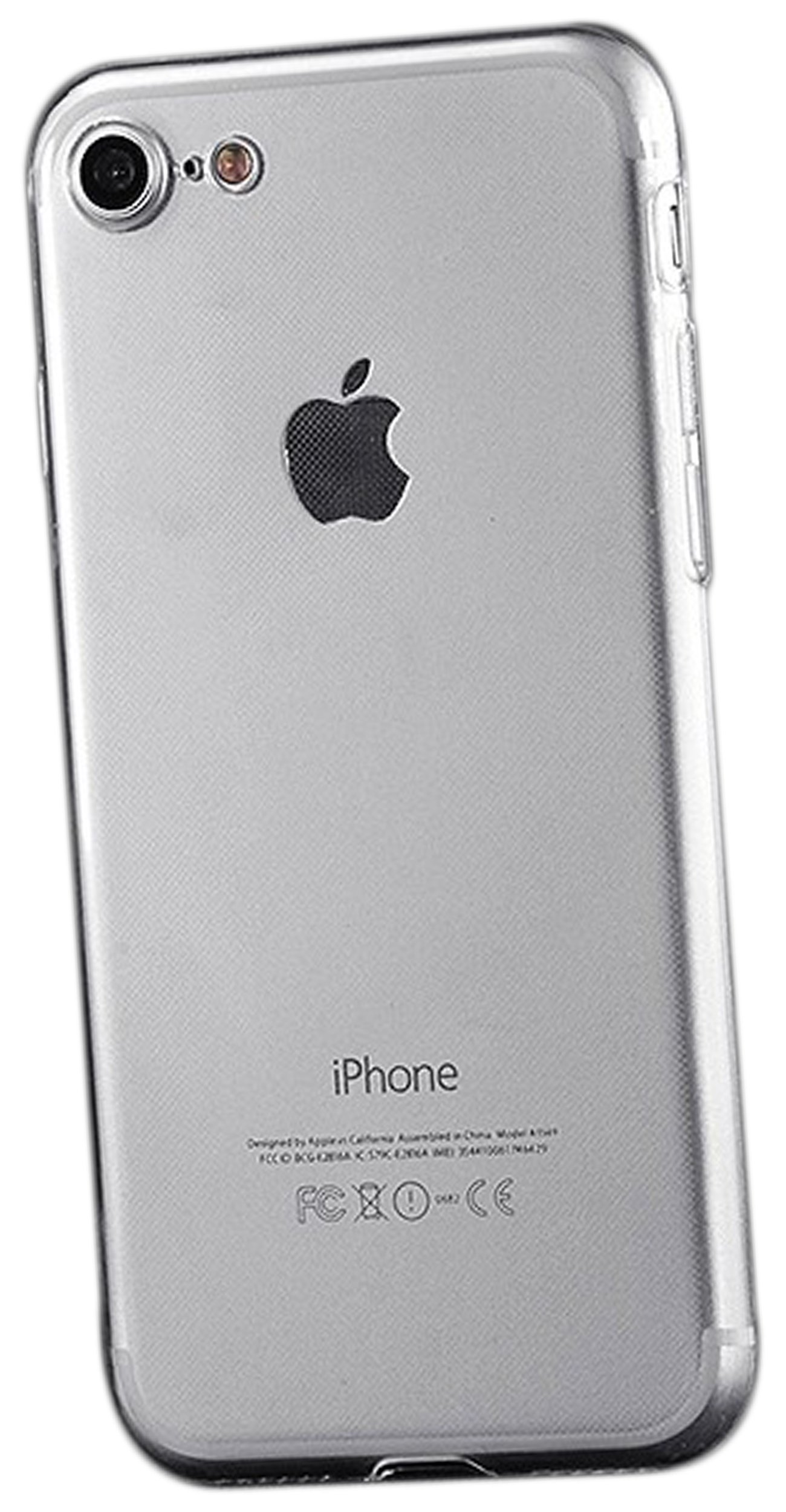 custodia iphone 7plus trasparente