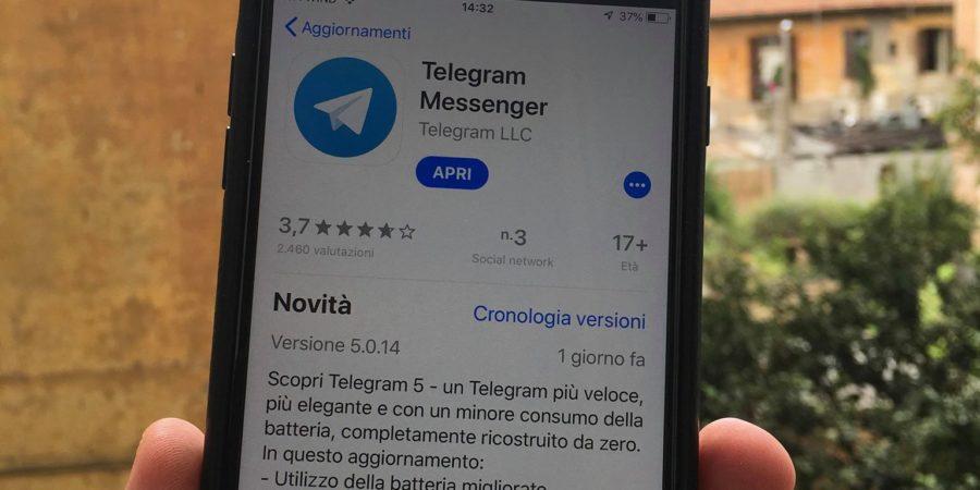 Telegram 5.0 – Che cosa è cambiato?