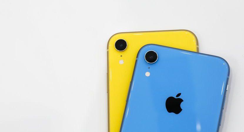 Calo della produzione di iPhone XR e XS