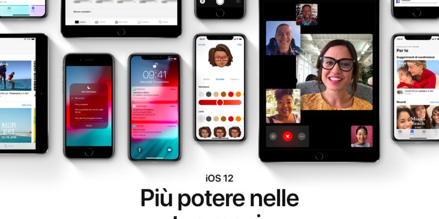 iOS 12.1.4: chiamate FaceTime di gruppo nuovamente disponibili e sicure